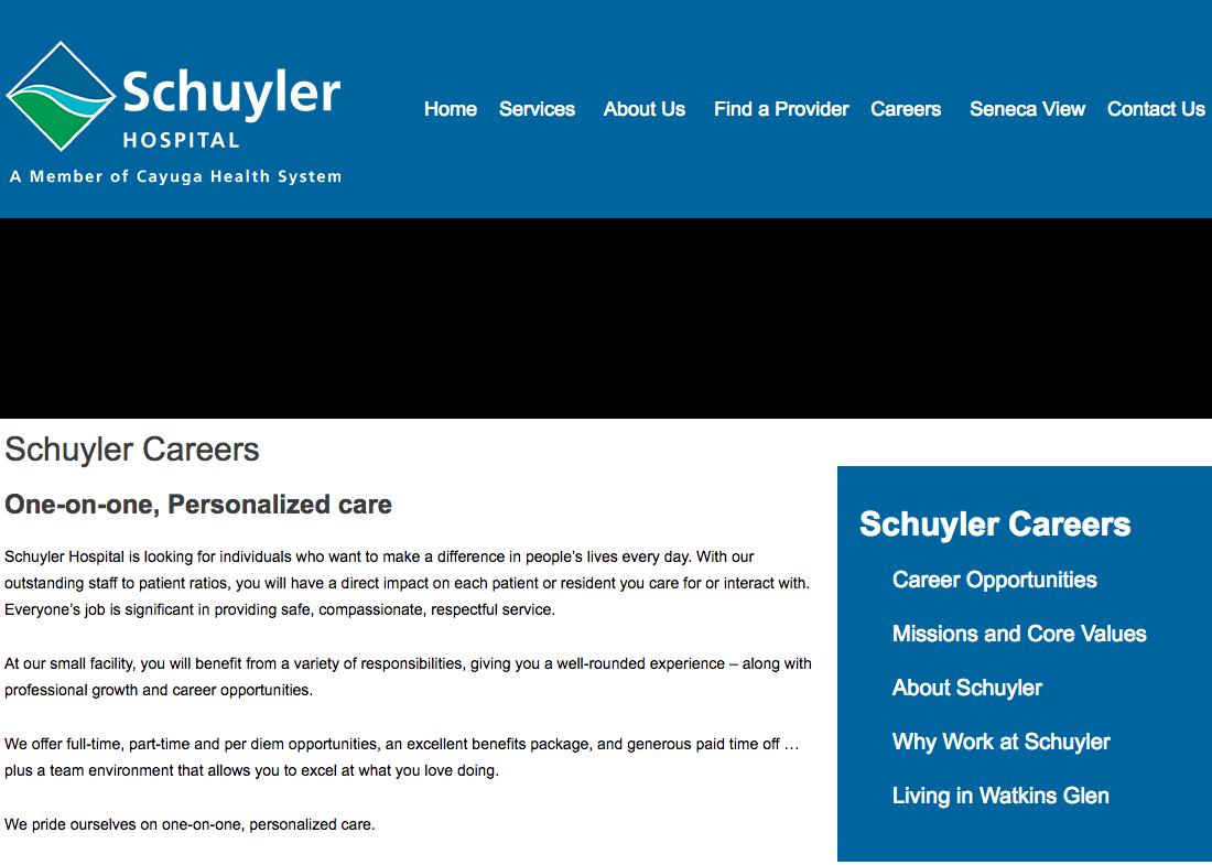 Schuyler Hospital